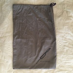 Brian Atwood dust bag